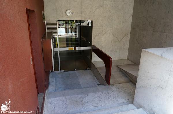 Paris - 16éme - Immeuble rue Cortambert  Architecte: Jean Balladur, Jean-Bernard Tostivint  Construction: 1973 - 1974