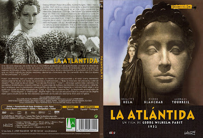 Carátula dvd: La Atlántida (1932) L'Atlantide