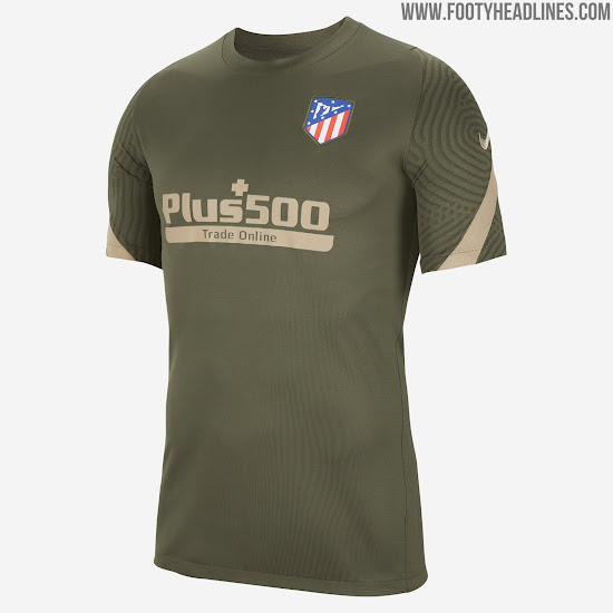Atletico 20 21 Training Kit Leaked Footy Headlines