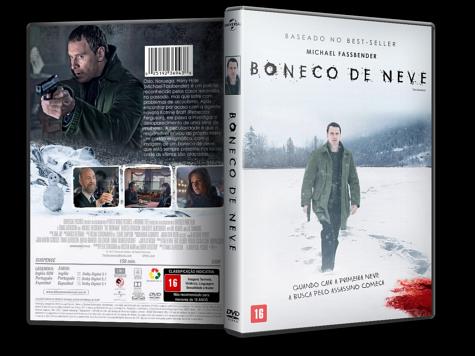Capa DVD Boneco de Neve [Custom]