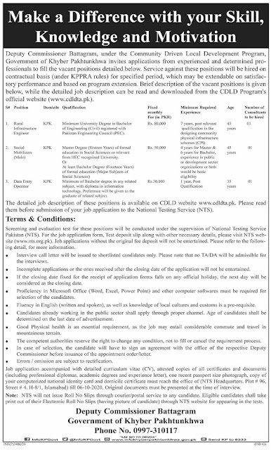 local-government-and-community-development-department-kpk-jobs-2020-via-nts