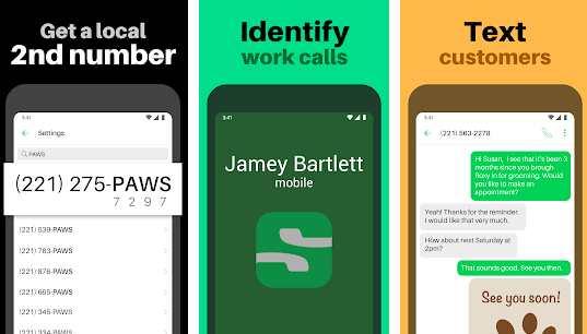 Sideline app for fake whatsapp number