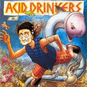 """Acid Drinkers - """"Fishdick"""" - pierwsza okładka"""