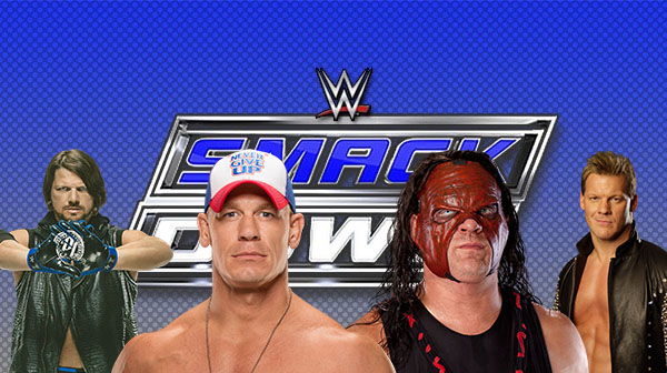 Possible World Heavyweight Title contenders Styles, Cena, Kane and Jericho
