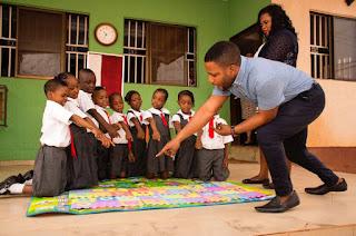 A Samville Teacher With Pupils