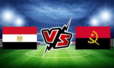 مصر وانغولا بث مباشر