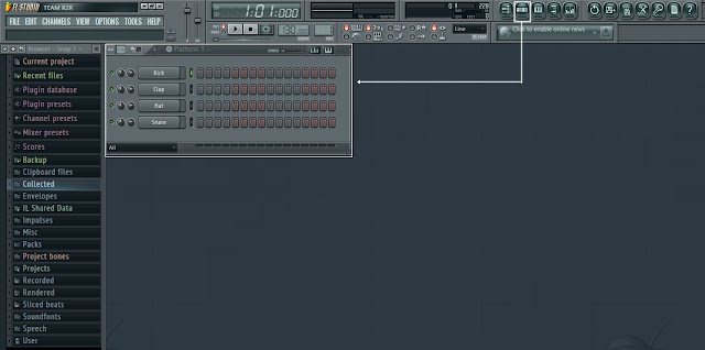 fl studio 11 pattern