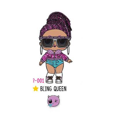 Редкая игрушка LOL Surprise Bling Queen 2018