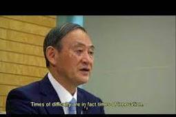 Inilah Pidato dari Perdana Menteri Jepang, Suga Yoshihide Saat Berbicara di Debat Umum PBB ke 75