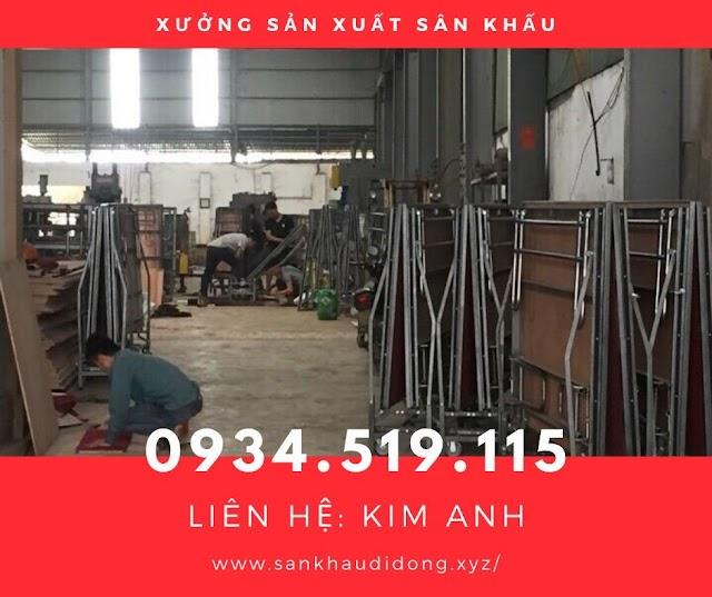 Xưởng sản xuất sân khấu di động – Hà Nội: 0934519115
