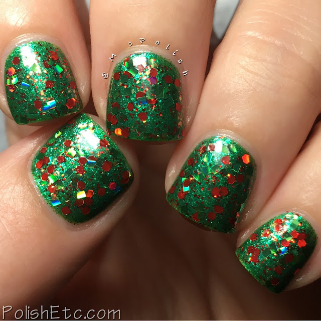 Whimsical Ideas by Pam - Holiday 2016 - McPolish - Kringle