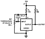 The LM3911 Basic Temperature Controller
