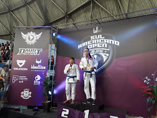 Daniele Kaori conquista a prata no Campeonato Sul Americano Open de Jiu Jitsu