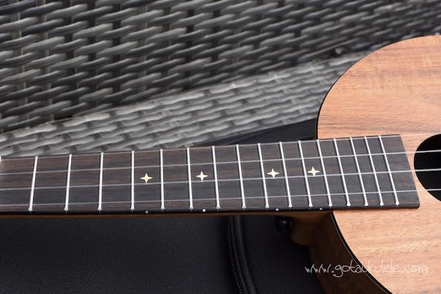 Enya EUR-X1 Ukulele fingerboard