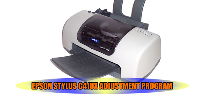 Epson Stylus C41UX Printer Adjustment Program