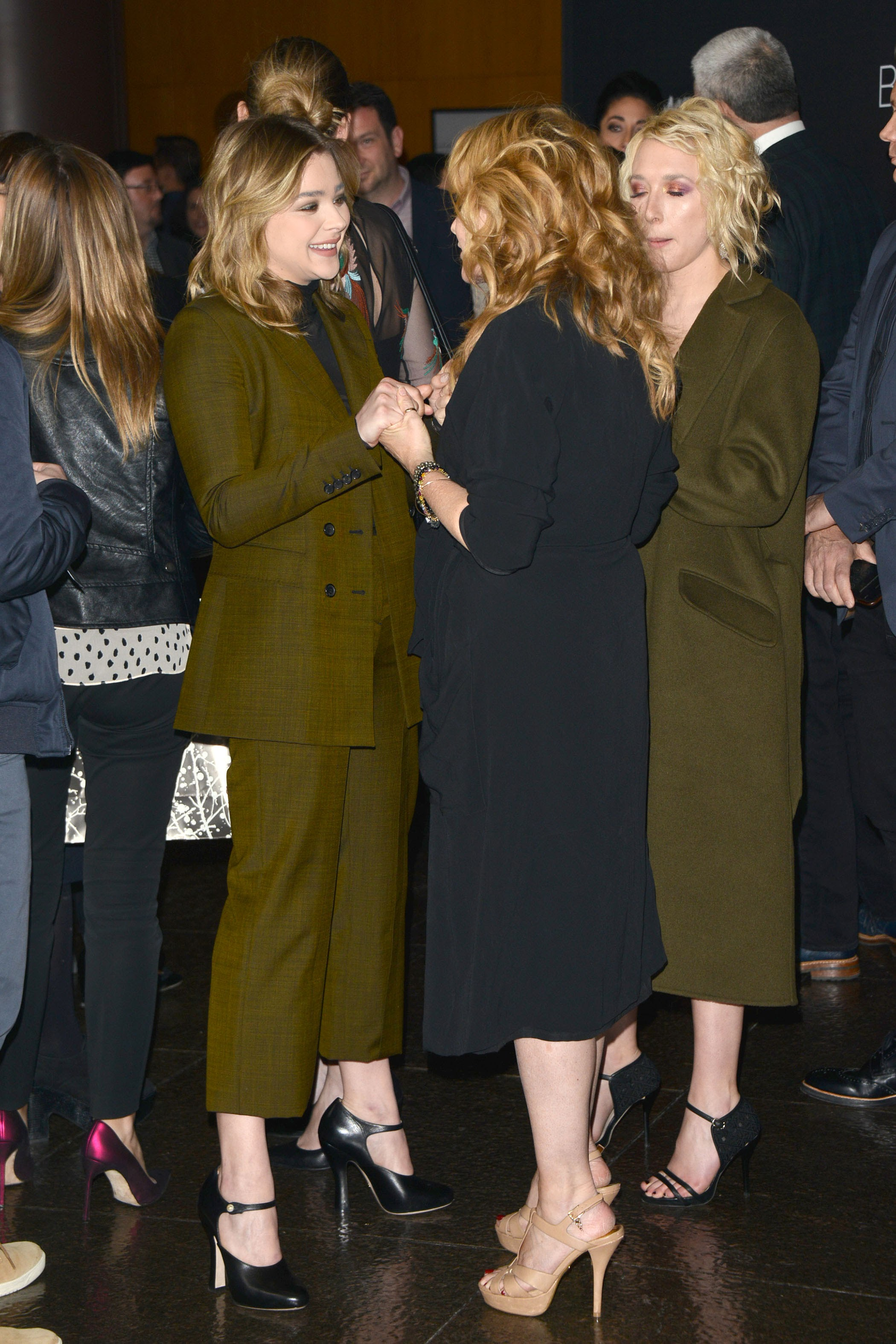 Chloe Moretz and Zoey Deutch of a premier screening of Before I Fall