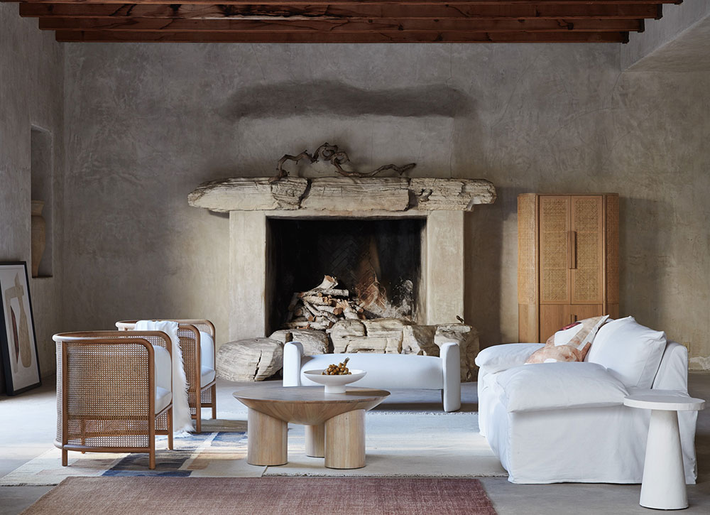 Beauty of natural minimalism in the new collection by Crate & Barrel