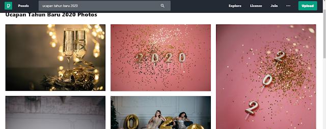ucapan tahun baru 2020 dari pexels