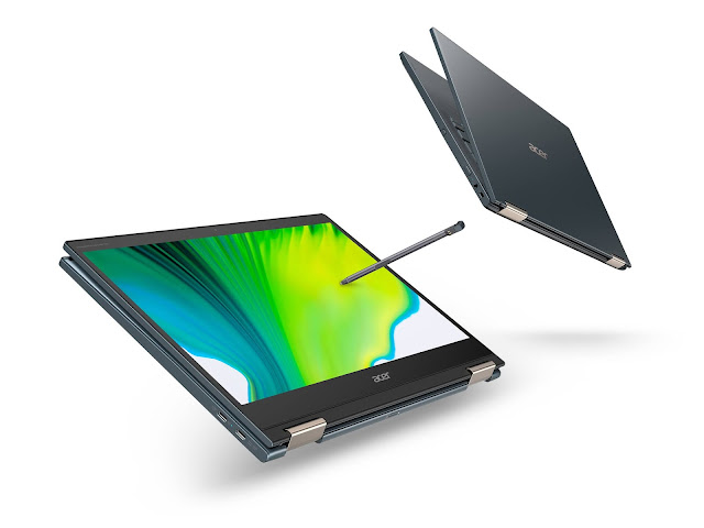 Acer Announces New Spin 7 Powered by the Qualcomm Snapdragon 8cx Gen 2 5G Compute Platform