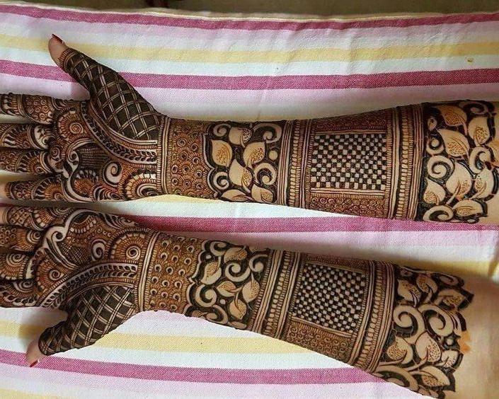 bangle mehndi designs for full hands