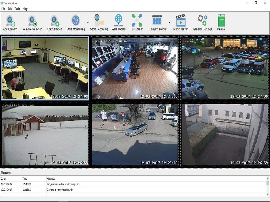تحميل برنامج Security Eye 4.6 لمراقبة النشاط الذي يحدث في منزلك