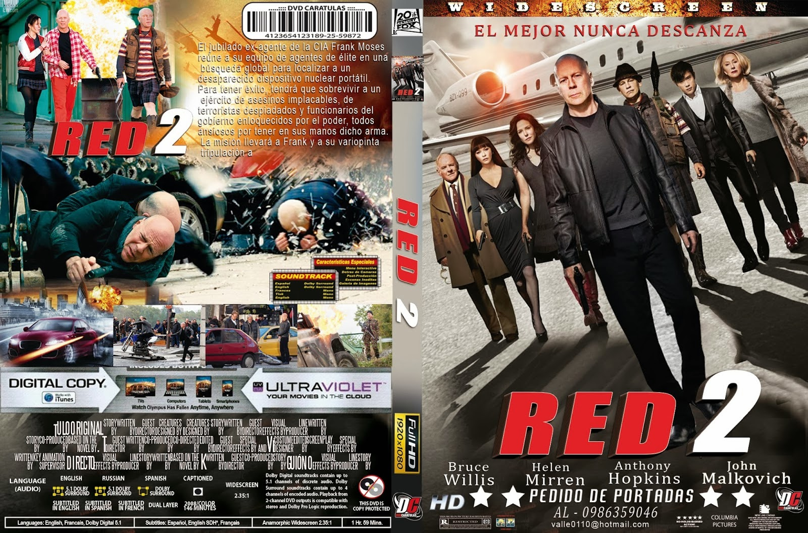 Red 2 Dvd Cover Red 2 ...