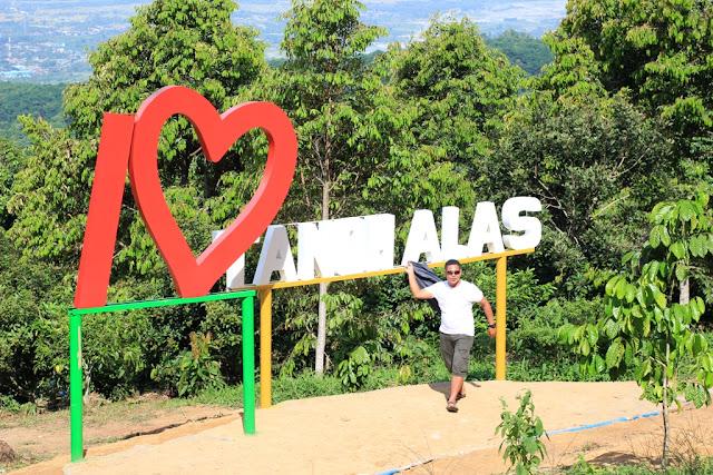 Spot I Love Tanoh Alas di Kebun Villa Ungu - Kutacane - Aceh Tenggara