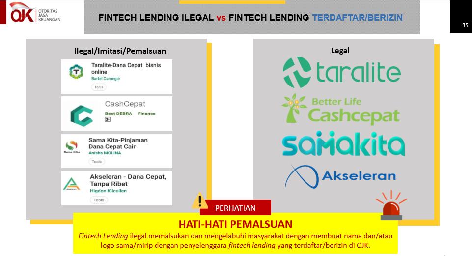 Ibu Segala Tau Cara Mengenali Fintech Lending Ilegal