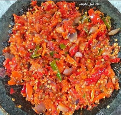 resep praktis, resep sambal, sambal goreng, sambal sunda, resep indonesia