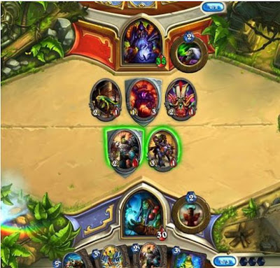Who developed the game Hearthstone?