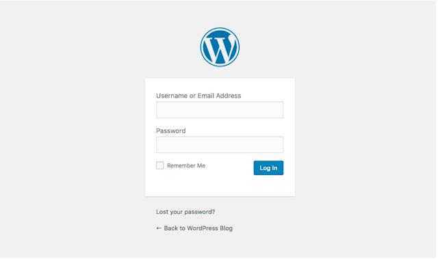 wordpress-dashboard-login-settings
