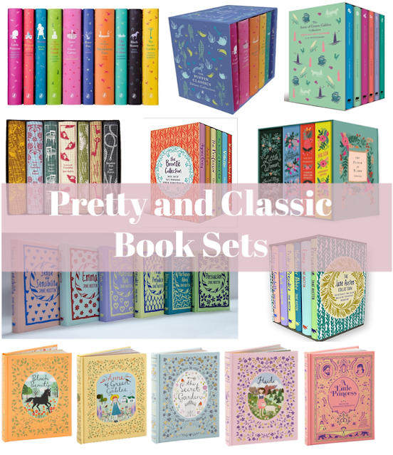 A round up of cute and classic book sets