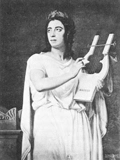 Pauline Viardot as Gluck's Orpheus in 1860