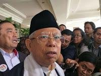 Maruf Amin Sindir 'Kubu Sebelah' Belum Akui Kemenangan Jokowi
