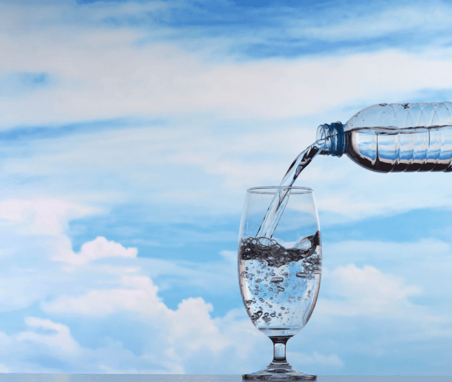 Manter-se hidratado com os remédios caseiros