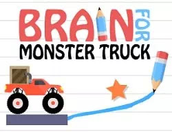Kamyona Yol Çiz - Brain For Monster Truck
