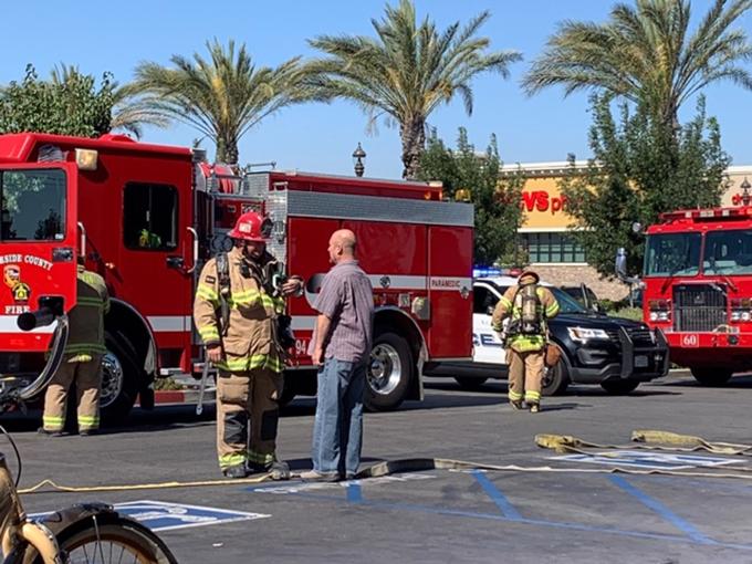 e358be3e551 Kitchen fire in doughnut shop briefly closes businesses   Menifee 24/7