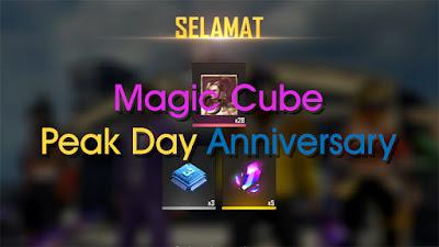 Cara Mendapatkan Magic Cube Gratis Peak Day Anniversary