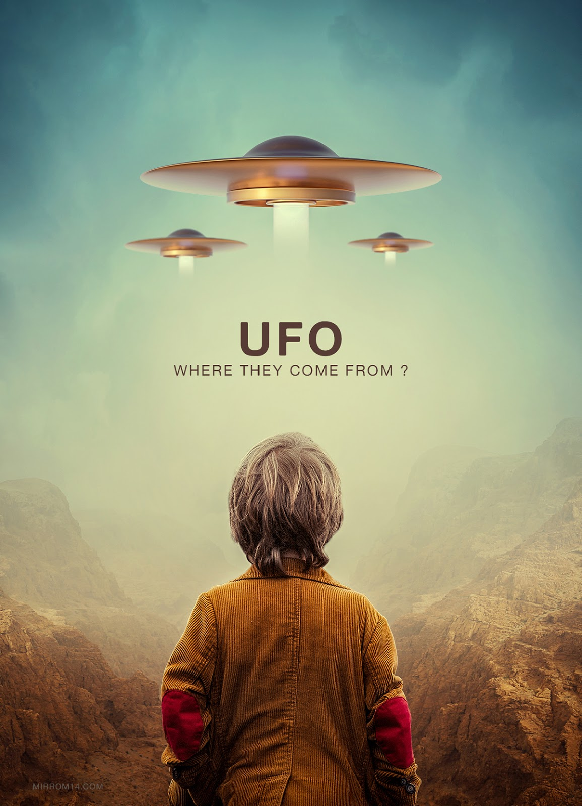 Create a Ufo Poster Photo Manipulation Tutorial Photoshop 2020