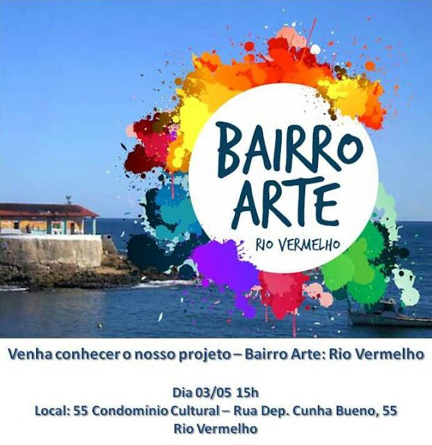 Amarv convida para apresentação do Projeto Bairro Arte