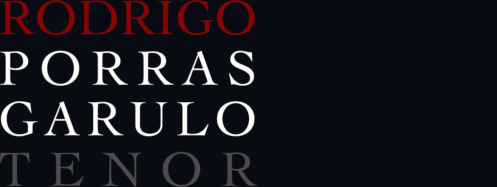 RODRIGO PORRAS GARULO