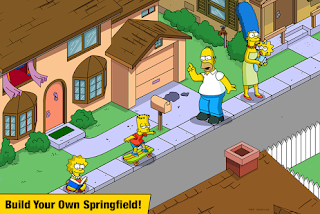 The Simpsons: Tapped Out Apk v4.35.0 Mod Free Shopping for on android