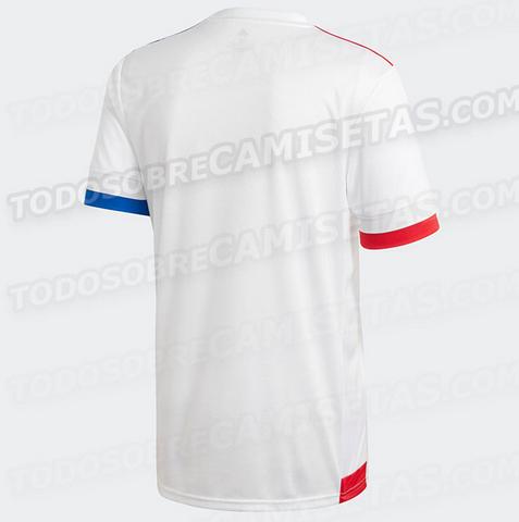 top maglie calcio 2021: Nuova maglia Lione 2020 2021 prima predizione