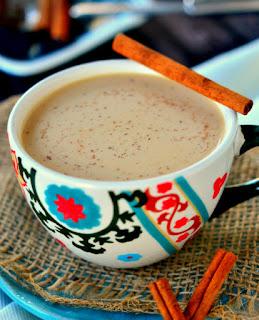 Té Chai de vainilla caliente