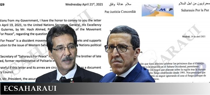 "⭕️حصري | مجموعة ""صحراويين من أجل السلام"" تخاطب الأمم المتحدة بلسان ووساطة نظام الاحتلال المغربي."