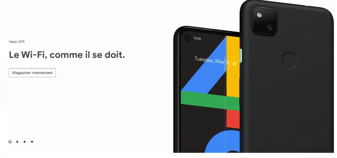 تسريب تصميم Google Pixel 4a بالخطأ على موقع الشركة الكندي!