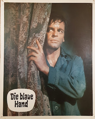 Creature with the Blue Hand, lobby card, Edgar Wallace