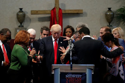 Trump and evangelists