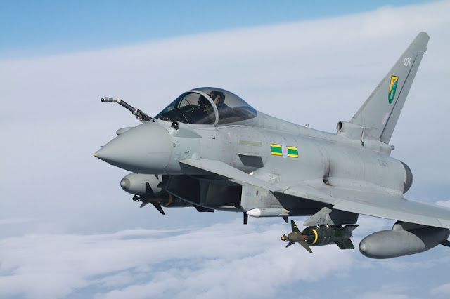 Defense system upgrade RAF Eurofighter