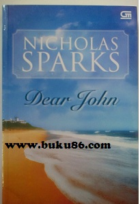 Novel Dear Jhon by Nicholas Spark Bekas